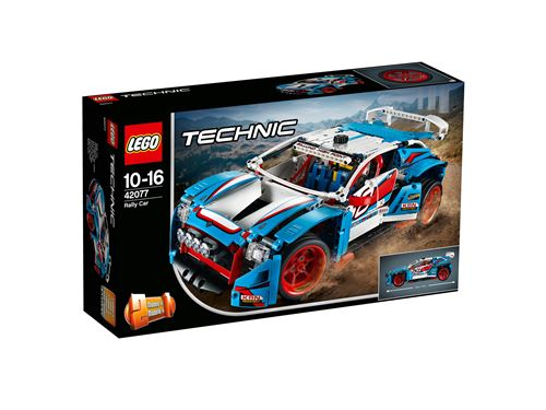 LEGO® Technic 42077 La voiture de rallye