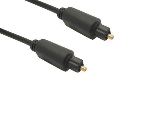 Câble optique Lineaire 1.5 m Noir
