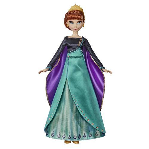 Poupée Disney Frozen La Reine des Neiges 2 Anna Chantante Tenue de Reine
