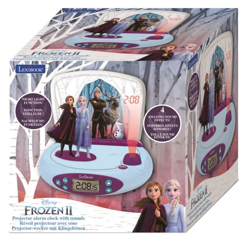 Radio reveil Lexibook Projecteur Disney Frozen 2