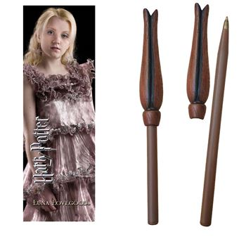 HARRY POTTER-STYLO + MARQUE-PAGES-LUNA LOVEGOOD