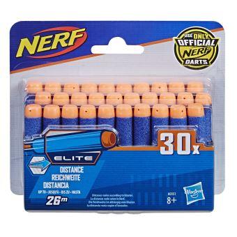 Nerf Pack de 30 Fléchettes Nerf Elite Officielles