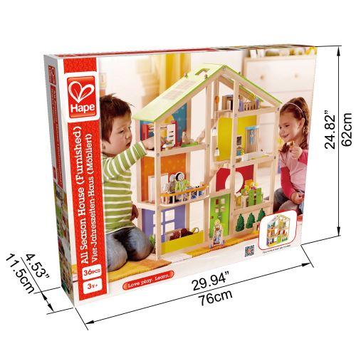 Jeu pour enfant Hape Maison toute saison meublée