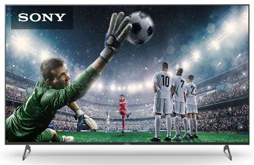 TV LED - LCD 75 pouces SONY 4K UHD G, KE75XH9096B