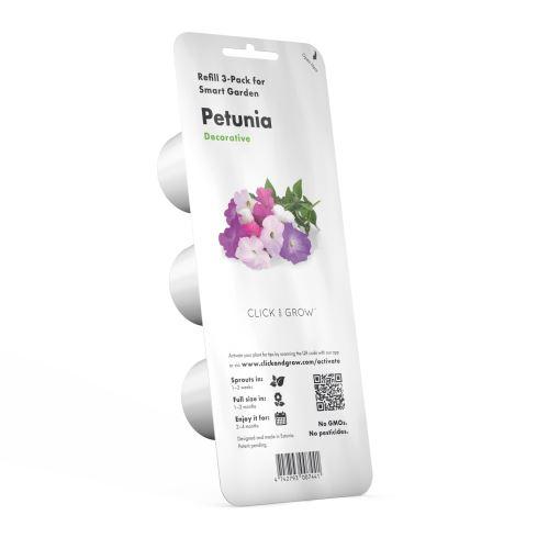 Recharge Emsa Click and Grow Pack 3 Petunia capsules