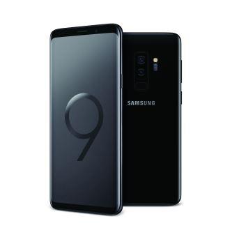 Smartphone Samsung S9+ Dubbele Sim 64 GB Zwart