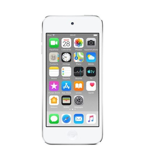 Apple iPod Touch 256 Go Argent