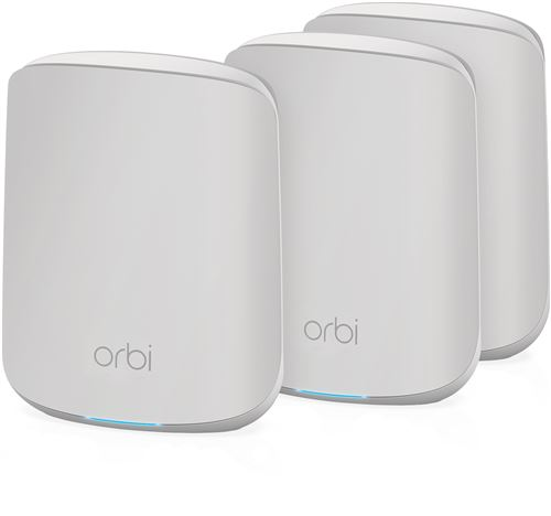 Netgear Orbi WiFi 6 AX1800 routeur + 2 satellites (RBK353)