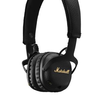 Casque Bluetooth Marshall Mid Anc Noir Casque Audio Fnac