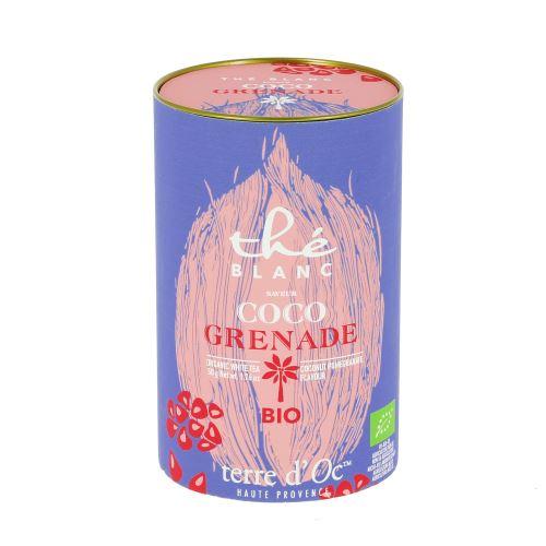 Thé blanc coco grenade bio