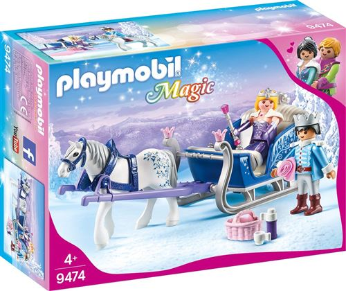 Playmobil Magic Le palais de Cristal 9474 Couple royal et calèche