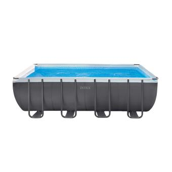 piscine tubulaire ultra silver rectangulaire 5 49 x 2 74 x 1 32 m – intex