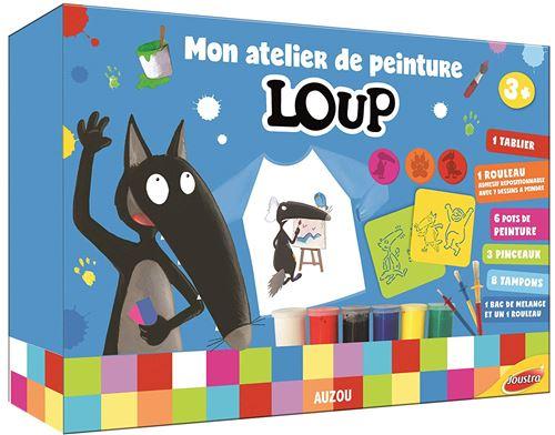 Kit créatif Joustra Atelier de peinture Le Loup