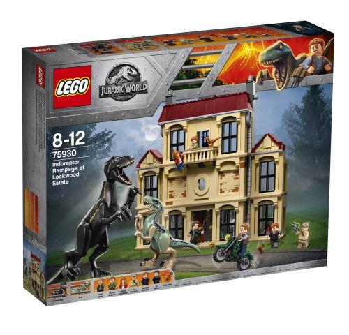 LEGO® Jurassic World 75930 La fureur dIndoraptor à Lockwood Estate - Lego. Achat et vente de jouets, jeux de société, produits de puériculture. Découvrez les Univers Playmobil, Légo, FisherPrice, Vtech ainsi que les grandes marques de puériculture : Chicc