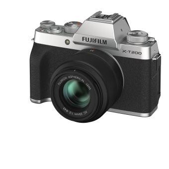 FUJI X-T200 SILVER +XC 15-45 PZ