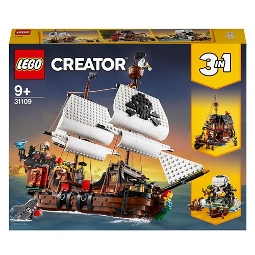 LEGO® Creator 31109 Le bateau pirate