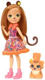 Mini poupée Cherish Guépard Enchantimals 15 cm