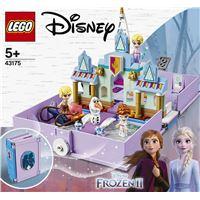 LEGO® Disney Frozen 43175 Les aventures d'Anna et Elsa dans un livre de contes