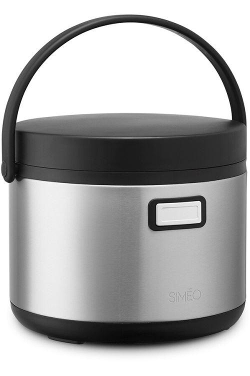 Mijoteur Simeo Thermal Cooker TCE610 35 W Noir et Argent