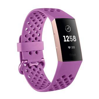 Montre connectée Fitbit Charge 3 Berry