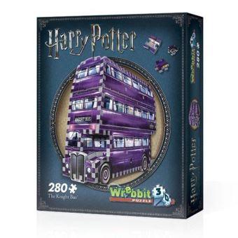 Puzzle 3D 280 pièces Le Magicobus Harry Potter Wrebbit