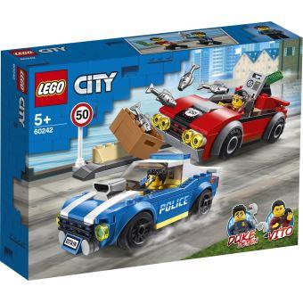 LEGO® City Police 60242 La course-poursuite sur l'autoroute