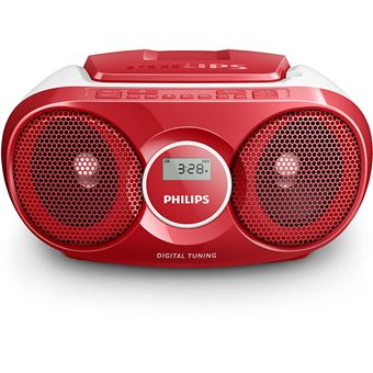 Philips AZ215R - boombox - CD