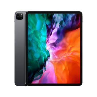 """Apple iPad Pro 12,9"""" 256 Go Gris sidéral Wi-Fi 2020 4ème génération"""
