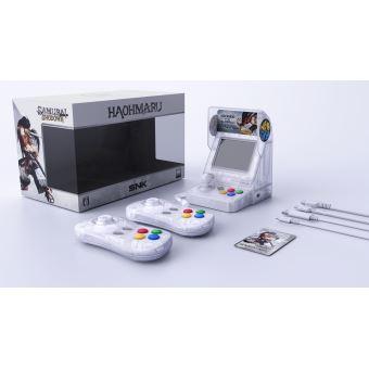Console SNK Neo Geo Mini Samurai Shodown Edition Limitée Blanc