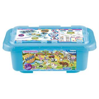 Kit créatif Aquabeads La box Safari Bleu