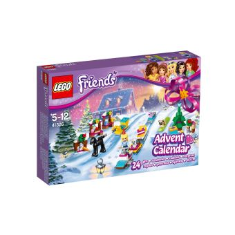 Lego Friends Calendrier De L Avent.Lego Friends 41326 Le Calendrier De L Avent