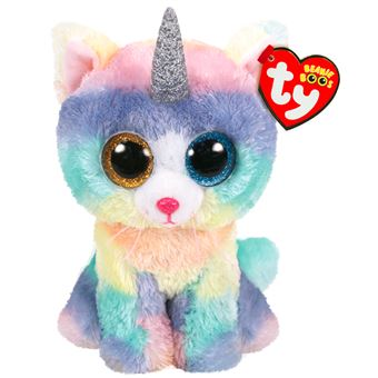 TY BEANIE BOO'S SMALL - HEATHER LE CHAT