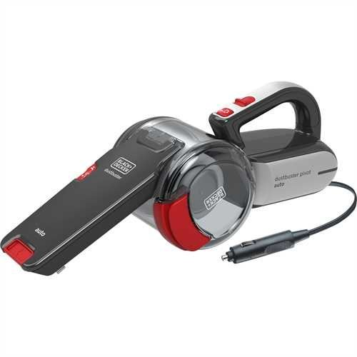 Aspirateur à main Black+Decker Pivot Auto Gris et Rouge