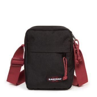 vente chaude réel super populaire chaussures exclusives Sac à bandoulière Eastpak The One 2,5 L Noir et Rouge