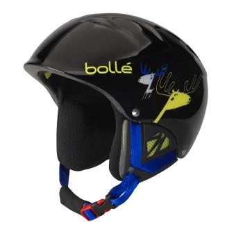Casque De Ski Bollé B Kid 49 53 Cm Noir Caribou Protection Sport