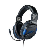 Micro-casque Gaming Stéréo BigBen Noir pour PS4, PC, Mac et Appareils mobiles