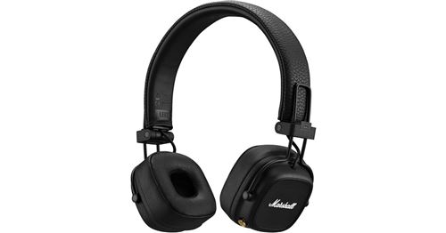 Casque audio Marshall Major IV Bluetooth Noir