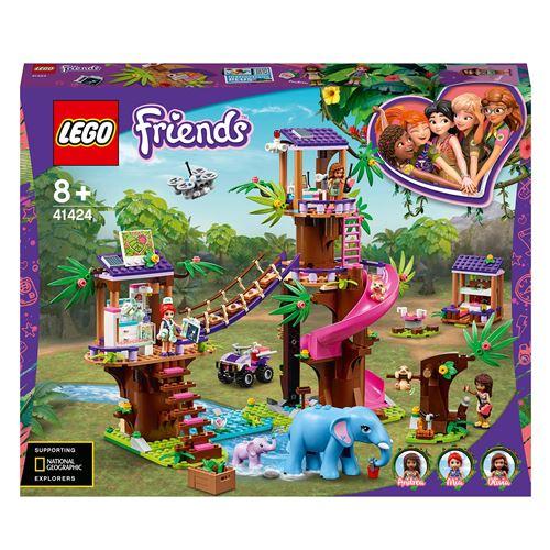 LEGO® Friends 41424 La base de sauvetage dans la jungle