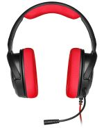 Casque-Micro Gaming Corsair HS35 Rouge