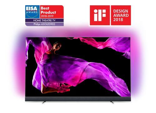 TV Philips 65OLED903 OLED UHD 4K Ambilight 3 côtés Android TV 65