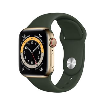 Photo de apple-watch-series-6-40mm-boitier-acier-or