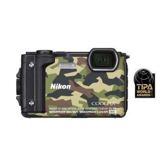 Compact Nikon Coolpix W300 Camouflage