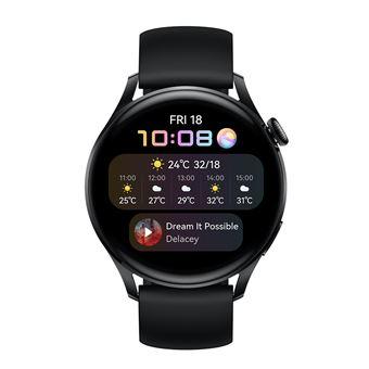 Montre connectée Huawei Watch 3 Active bracelet en Fluorélastomère Noir