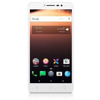 Smartphone Alcatel A3 XL Double SIM 8 Go Blanc et gris