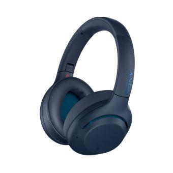 casque sony extra bass bleu