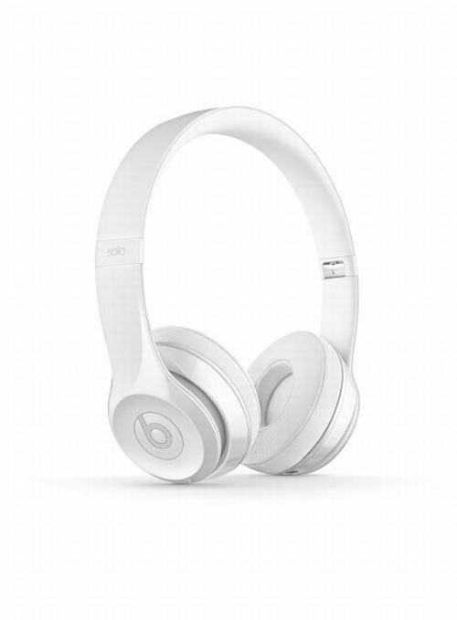Casque supra-auriculaire sans fil Beats Solo3 Blanc verni