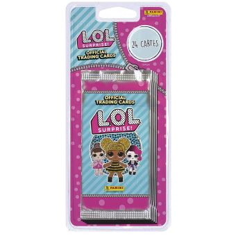 Carte Cadeau Lol Fnac.Blister 4 Pochettes Panini Lol Trading Cards
