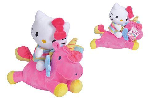 Peluche licorne Simba Hello Kitty 25 cm