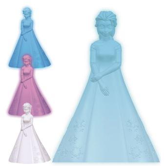 veilleuse projecteur d/étoiles avec les personnage Elsa anna Frozen Disney