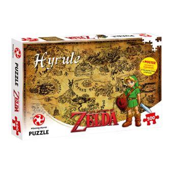 Puzzle 500 pièces Zelda Hyrule Winning Moves